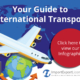 international transport infographic cover