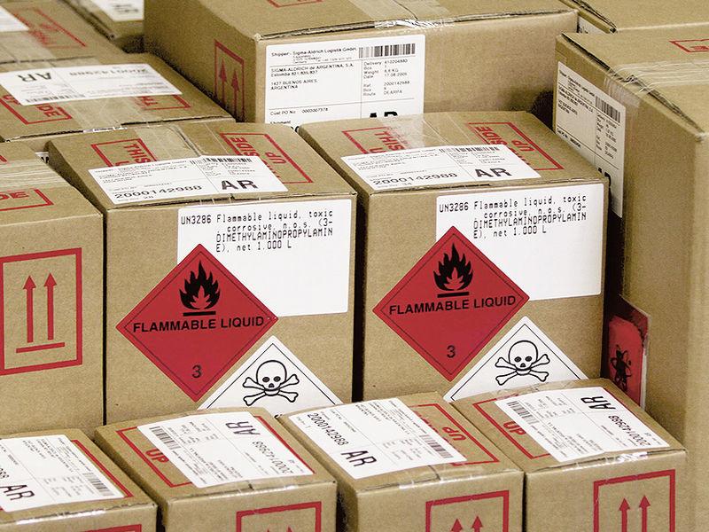 Dangerous goods packaging requirements