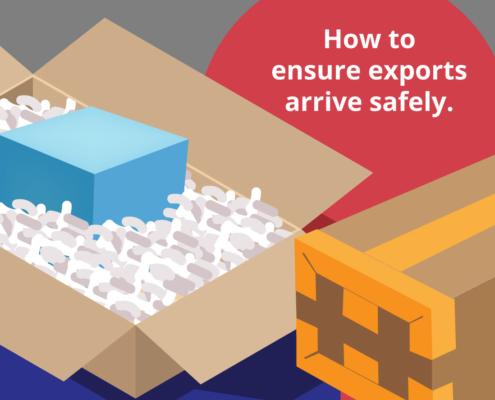 International packing infographic